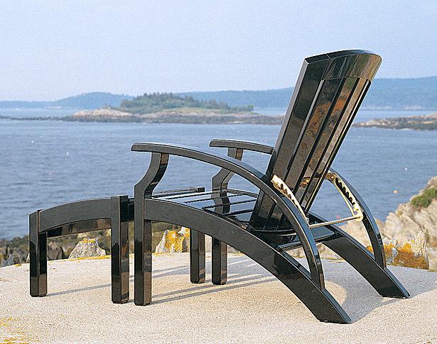 Weatherondack Lounge Chair & Ottoman