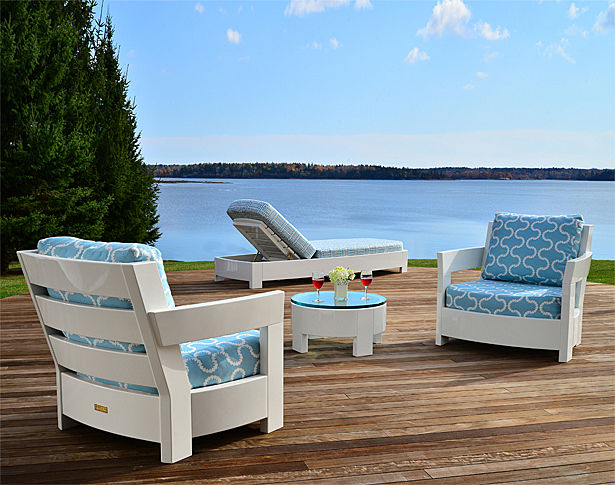 Penobscot Casual Chair and Ottoman