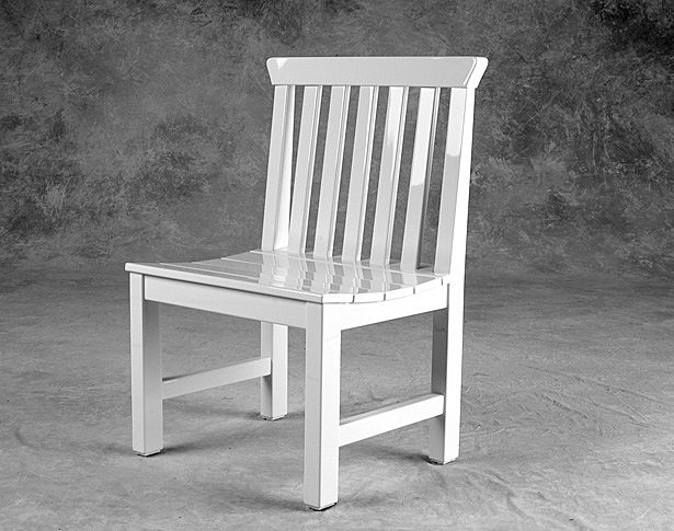 jackson armless dining chair weatherend