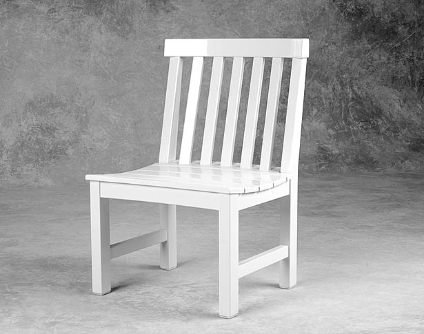 Weatherend Armless Dining Chair