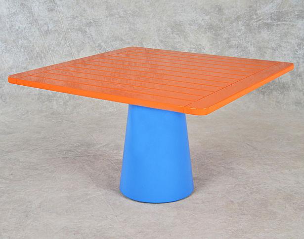 Custom Square Mushroom Table
