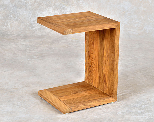 Wood C Table Home Ideas